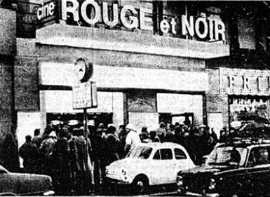 Cinema roma cinema rouge et noir - Rouge et noir cinema ...